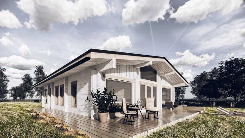 Фото и цены типовых проектов домов для строительства под ключ