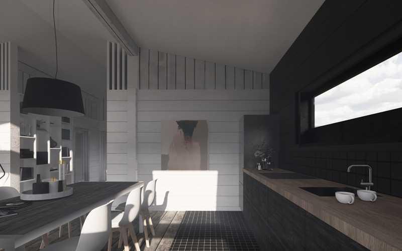 Фото проектирования одноэтажных домов с мансардой и верандой