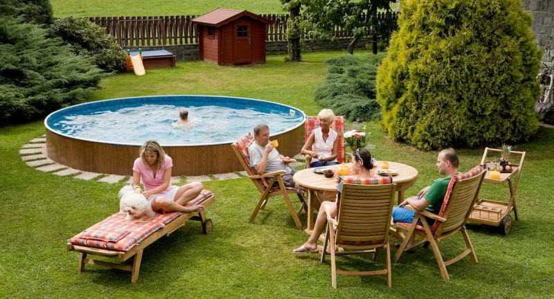 Фото семейный отдых на комфортабельной даче на пенсии круглый год