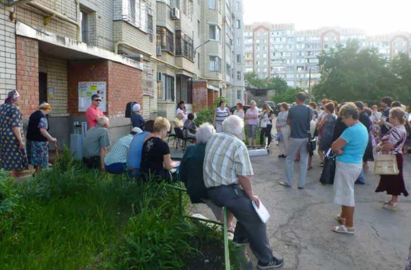 Фото для получения городской субсидии на установку шлагбаума нужно обращение жильцов